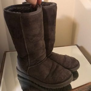 Shoes - Ugg Tall boots in gray